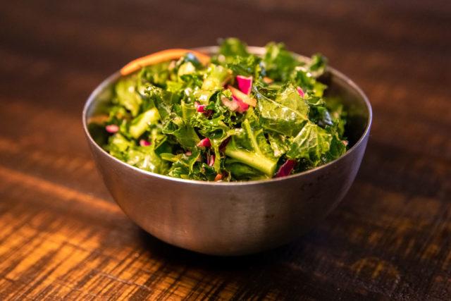 Kale Side Salad